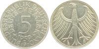 5 Mark 1959 G BRD Silberadler vz  29,00 EUR  zzgl. 4,95 EUR Versand
