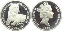 10 Dollars 1990 Cook-Inseln Gefährdete Tierwelt - Tiger PP  9,95 EUR  zzgl. 2,95 EUR Versand