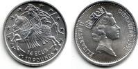 14 Ecus / 10 Pounds 1992 Gibraltar Ritter zu Pferde nach links st  16,00 EUR  zzgl. 4,95 EUR Versand
