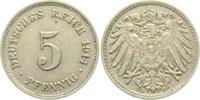 5 Pfennig 1914 G Kaiserreich 5 Pfennig - großer Adler vz  3,95 EUR  zzgl. 2,95 EUR Versand