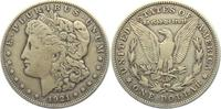 1 Dollar 1921 S USA 1 Dollar - Morgan (1878 - 1921) ss-vz  19,00 EUR  zzgl. 4,95 EUR Versand
