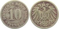 10 Pfennig 1896 E Kaiserreich 10 Pfennig - großer Adler ss  2,95 EUR  zzgl. 2,95 EUR Versand
