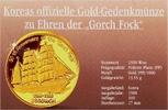2500 Won 1988 Korea Nord Gorch Fock PP  798,00 EUR  zzgl. 6,95 EUR Versand