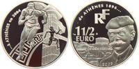 1 1/2 Euro 2003 Frankreich Olympiade Athen 2004 - Coubertain - Sprinter... 18,00 EUR  zzgl. 4,95 EUR Versand