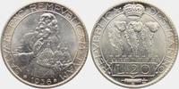20 Lire 1940 B San Marino Hl. Marinus f.st  798,00 EUR  zzgl. 6,95 EUR Versand
