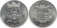 1 Centim 2002 Andorra Karl der Große - Carlemany unc.  4,95 EUR  zzgl. 2,95 EUR Versand
