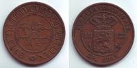 2 1/2 Cents 1857 Niederländisch Indien Wilhelm III. (1849 - 1890) vz  19,00 EUR  zzgl. 4,95 EUR Versand