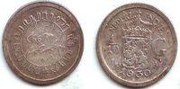 1/10 Gulden 1930 Niederländisch Indien Wilhelmina (1890 - 1948) ss  3,95 EUR  zzgl. 2,95 EUR Versand
