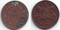 1/12 Anna 1835 Ostindien Company Wilhelm IV. (1830 - 1837) ss-vz  9,95 EUR  zzgl. 2,95 EUR Versand
