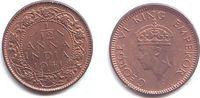 1/12 Anna 1941 Indien George VI. (1936 - 1952) f.st  4,95 EUR  zzgl. 2,95 EUR Versand