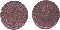 1/4 Anna 1940 Indien George VI. (1936 - 1952) vz-st  4,95 EUR  zzgl. 2,95 EUR Versand