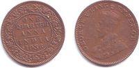 1/4 Anna 1936 Indien George V. (1910 - 1936) vz-st  12,95 EUR  zzgl. 4,95 EUR Versand