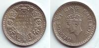 1/2 Rupie 1943 Indien George VI. (1936 - 1952) vz-st  39,95 EUR  zzgl. 4,95 EUR Versand