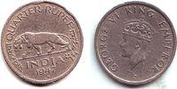 1/4 Rupie 1947 Indien George VI. (1936 - 1952) ss  6,95 EUR  zzgl. 2,95 EUR Versand