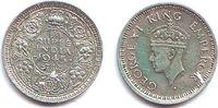 1/4 Rupie 1945 Indien George VI. (1936 - 1952) vz  9,95 EUR  zzgl. 2,95 EUR Versand