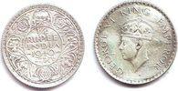 1/4 Rupie 1940 Indien George VI. (1936 - 1952) ss-vz  9,95 EUR  zzgl. 2,95 EUR Versand