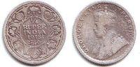 1/4 Rupie 1918 Indien George V. (1910 - 1936) ss  19,95 EUR  zzgl. 4,95 EUR Versand