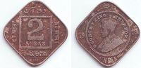 2 Annas 1918 Indien George V. (1910 - 1936) ss  9,95 EUR  zzgl. 2,95 EUR Versand
