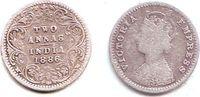2 Annas 1886 Indien Victoria (1837 - 1901) ss  7,95 EUR  zzgl. 2,95 EUR Versand