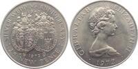 25 New Pence 1972 Gibraltar Silberhochzeit st  6,95 EUR  zzgl. 2,95 EUR Versand