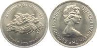 25 Pence 1977 Guernsey 25. Regierungsjubiläum st  4,95 EUR  zzgl. 2,95 EUR Versand