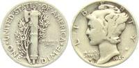 1 Dime 1940 USA 1 Dime - Mercury (1916 - 1945) ss  4,95 EUR  zzgl. 2,95 EUR Versand