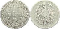 1 Mark 1875 E Kaiserreich 1 Mark - kleiner Adler s-ss  6,95 EUR  zzgl. 2,95 EUR Versand