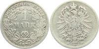 1 Mark 1875 F Kaiserreich 1 Mark - kleiner Adler s-ss  4,95 EUR  zzgl. 2,95 EUR Versand