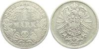 1 Mark 1882 J Kaiserreich 1 Mark - kleiner Adler s-ss  7,95 EUR  zzgl. 2,95 EUR Versand