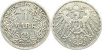 1 Mark 1901 D Kaiserreich 1 Mark - großer Adler ss  9,95 EUR  zzgl. 2,95 EUR Versand
