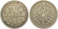 1 Mark 1878 J Kaiserreich 1 Mark - kleiner Adler s-ss  7,95 EUR  zzgl. 2,95 EUR Versand