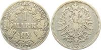 1 Mark 1877 A Kaiserreich 1 Mark - kleiner Adler ss  9,95 EUR  zzgl. 2,95 EUR Versand