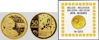 50 Euro 2016 Belgien Albert Einstein PP mit Box + Zertifikat  448,00 EUR  zzgl. 6,95 EUR Versand