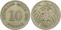 10 Pfennig 1899 J Kaiserreich 10 Pfennig - großer Adler ss  1,95 EUR  zzgl. 2,95 EUR Versand