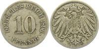 10 Pfennig 1896 F Kaiserreich 10 Pfennig - großer Adler ss  2,95 EUR  zzgl. 2,95 EUR Versand
