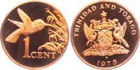 1 Cent 1975 Trinidad und Tobago Kolibri - Vögel - Vogel - Tiere PP  4,95 EUR  zzgl. 2,95 EUR Versand