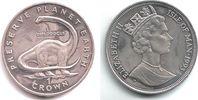1 Crown 1993 Isle of Man Dino - Dinosaurier - Diplodocus st  14,00 EUR  zzgl. 4,95 EUR Versand
