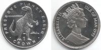 1 Crown 1993 Isle of Man Dino - Dinosaurier - Iguanodon st  14,00 EUR  zzgl. 4,95 EUR Versand