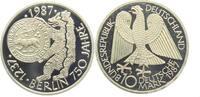10 DM 1987 J Deutschland 750 Jahre Berlin PP  9,95 EUR  zzgl. 2,95 EUR Versand