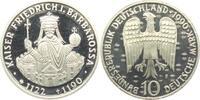 10 DM 1990 F Deutschland Kaiser Friedrich I. Barbarossa PP  9,95 EUR  zzgl. 2,95 EUR Versand