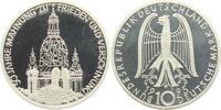 10 DM 1995 J Deutschland Frauenkirche Dresden PP  9,95 EUR  zzgl. 2,95 EUR Versand