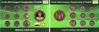 KMS - 8,88 Zlotych mit Medaille versch. Daten Polen Fußball EM 2012 in ... 9,95 EUR  zzgl. 2,95 EUR Versand