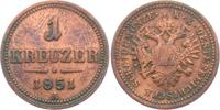 1 Kreuzer 1851 A Österreich Franz Joseph I. (1848 - 1916) ss  3,95 EUR  zzgl. 2,95 EUR Versand