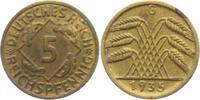 5 Reichspfennig 1935 G Weimarer Republik 5 Reichspfennig - Ährenbündel ... 7,00 EUR  zzgl. 2,95 EUR Versand