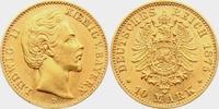 10 Mark 1875 D Bayern König Ludwig II. von Bayern (1864-1886) vz  298,00 EUR  zzgl. 6,95 EUR Versand