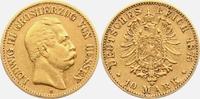 10 Mark 1875 H Hessen Ludwig III. ss  329,00 EUR  zzgl. 6,95 EUR Versand