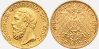 20 Mark 1894 G Baden Friedrich I.(1856-1907) ss/vz  398,00 EUR  zzgl. 6,95 EUR Versand