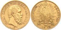 20 Mark 1873 F Württemberg König Karl von Württemberg (1864-1891) ss/Kr... 329,00 EUR  zzgl. 6,95 EUR Versand