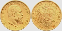 20 Mark 1894 F Württemberg König Wilhelm II. von Württemberg (1891-1918... 345,00 EUR  zzgl. 6,95 EUR Versand