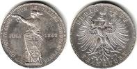 Vereintaler 1862 Frankfurt Zum Deutschen Schützenfest ss/Rf.  69,00 EUR  zzgl. 6,95 EUR Versand